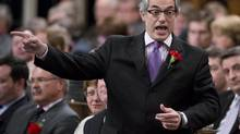 Treasury Board President Tony Clement responds to a question in the House of Commons on May 1, 2013. (ADRIAN WYLD/THE CANADIAN PRESS)