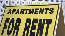 Apartments for rent sign. (Hemera Technologies/Getty Images)