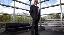 Jeff Melanson at the Banff Centre. (Jeff McIntosh for The Globe and Mail)