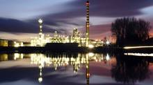 The Petroplus refinery in Cressier. (MICHAEL BUHOLZER/MICHAEL BUHOLZER/REUTERS)