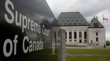 The Supreme Court of Canada is seen in Ottawa, Monday October 17, 2011. (Adrian Wyld/THE CANADIAN PRESS)