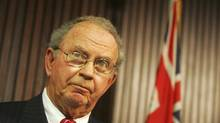 Ontario MPP Monte Kwinter is pictured in 2007. Mr. Kwinter will put forth a motion Thursday promising that Ontario will never restrict people from publicly expressing their religious beliefs. (Jim Ross for The Globe and Mail)