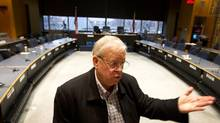 Chris Bolton, chair of the Toronto District School Board, says he hoped for provincial support to help calm infighting. (Peter Power/The Globe and Mail)