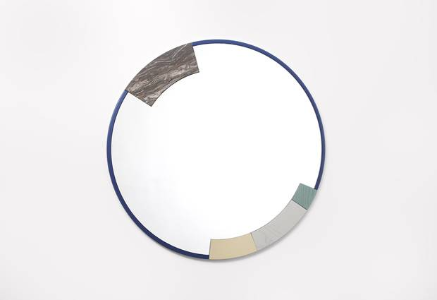 An ora mirror. Zoë Mowat started her studio in 2010 and has since exhibited her work throughout North America, recently crossing the Atlantic for the Stockholm Furniture & Light Fair's critically acclaimed group exhibit honouring the influence of Shaker furniture.