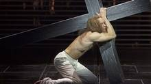 "Paul Nolan as Jesus in ""Jesus Christ Superstar"" at the Stratford Shakespeare Festival. (David Hou/Stratford Shakespeare Festival/David Hou/Stratford Shakespeare Festival)"