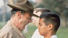 A drill instructor at work (Ewing Galloway/© Corbis. All Rights Reserved.)