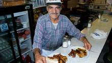For 35 years Cosmo Snack Bar proprietor Tony Koulakis served up all-day breakfasts that would cause palpitations in cardiologists. Tony Koulakis for Obit. Credit: Perpetuum Productions (Perpetuum Productions)
