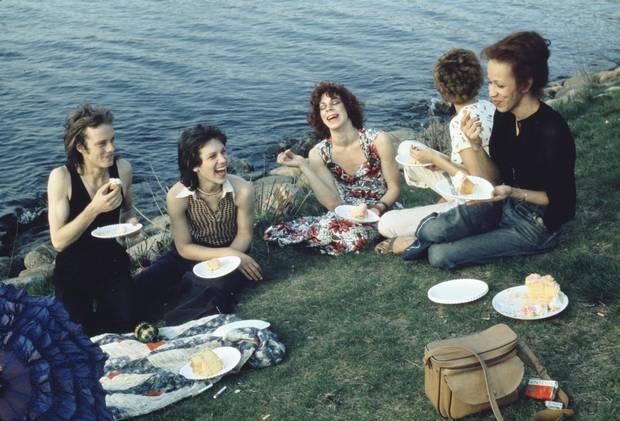 Nan Goldin's 1973 Picnic on the Esplanade, Boston.