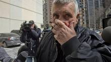 Convicted pedophile Gordon Stuckless was re-arrested on new sexual assault charges and taken to 52 Division in Toronto on March 22 2013. (Fred Lum/The Globe and Mail)