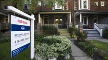 A house for sale in Toronto. (Galit Rodan/The Globe and Mail)