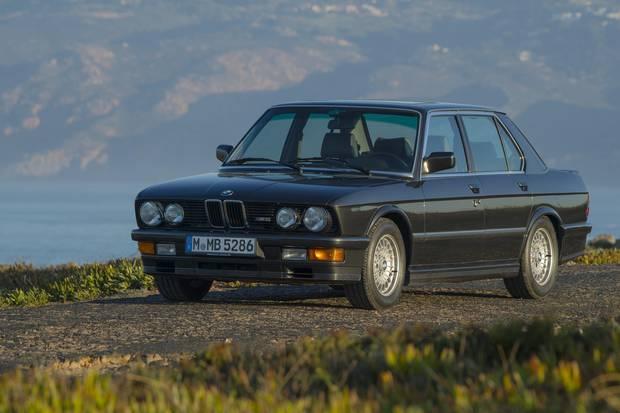 1986 BMW M5 E28.
