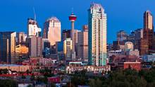 The skyline of downtown Calgary taken Sept. 9, 2010. (Chris Bolin Photography Inc./© 2010)