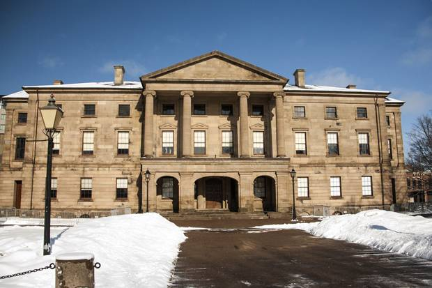 Province House in downtown Charlottetown is closed for renovation work until at least 2020.