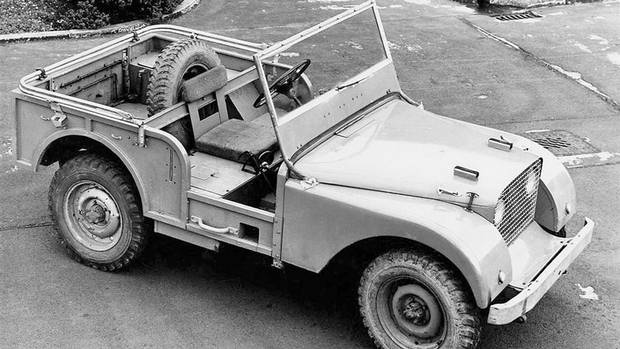 1947 centre-steering prototype (Land Rover)