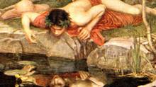 Narcissus. 1903. By John William Waterhouse.