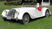 Jim Williams' highly modified 1958 Morgan 4/4 (Bob English for The Globe and Mail/Bob English for The Globe and Mail)