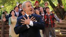 A scene from Mulroney: The Opera, starring Rick Miller as the former prime minister. (The Canadian Press)