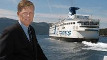 The pay and bonus package for someone like former BC Ferries' CEO David Hahn, above, was appropriate, says Roger Gurr, whose consulting company specializes in executive compensation. (Diana Nethercott for The Globe and Mail/Diana Nethercott for The Globe and Mail)