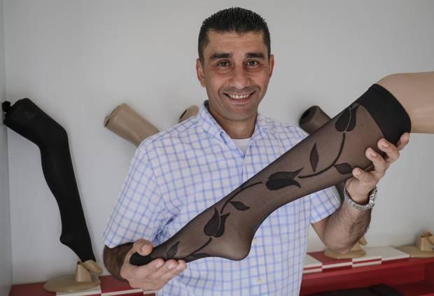 Syrian refugee Rami Tawil.