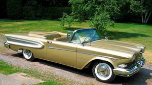 1958 Ford Edsel - The Edsel was a grave disappointment when it was launched in 1957. It flopped so badly that its name became a synonym for failure.