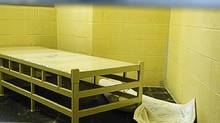 The inside of the prison in Kitchener, Ont., where Ashley Smith was held is shown in photo from 2007 in a court exhibit released on Monday. (THE CANADIAN PRESS)