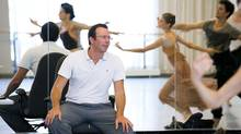 "Alexei Ratmansky oversees a rehearsal of ""Romeo and Juliet"". (Sian Richards)"