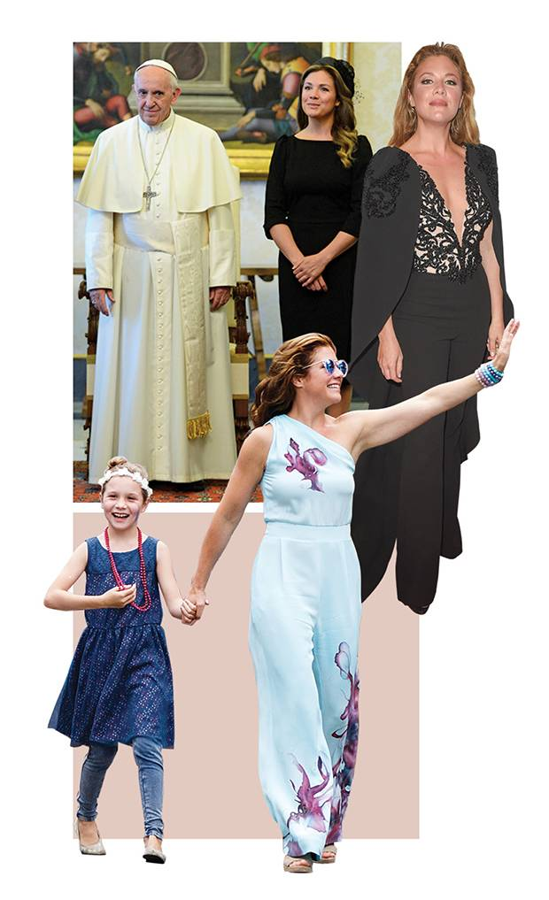 Sophie Grégoire Trudeau sees her fashion choices as ways to get people talking about Canadian creativity. Some more memorable looks include a Lilliput hat she wore to meet the Pope in May (top), a Mikael D ensemble selected for the 2016 CAFA gala (middle), and an Aleks Susak jumpsuit sported at the 2016 Pride parade in Vancouver.