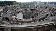 Rome's Colosseum (Gregorio Borgia/Associated Press)