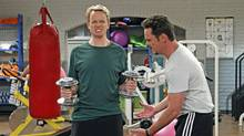David Hornsby and Kevin Dillon in How To Be A Gentleman.