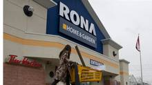 Industry observers have said for years that it makes sense for Lowe's to swallow some of Rona to compete with giant Home Depot. (Chris Young for The Globe and Mail/Chris Young for The Globe and Mail)