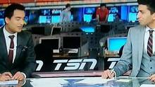 Gurdeep Ahluwalia and Nabil Karim appear on TSN's Sportscentre. (file photo) (TSN)