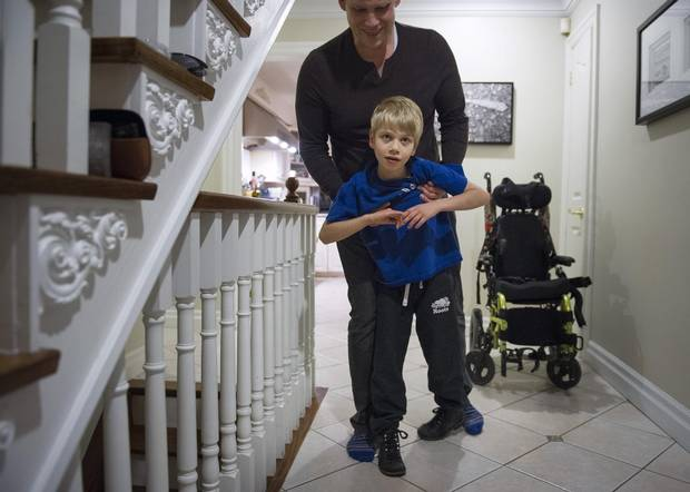 Keith McArthur's son Bryson was diagnosed with an extremely rare genetic disorder known as GRIN1, named for a misspelled gene resulting in developmental delay