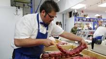 Recent outbreak of E. coli at Brooks, Alta. plant XL Foods sparks public interest in what can be done to prevent contamination. E. coli, a strain of which can cause sickness or even death, is widely present in meat-processing plants, and regulators require packers to control the bacteria within certain levels. E. coli can be killed by thoroughly cooking meat. (TODD KOROL/REUTERS)