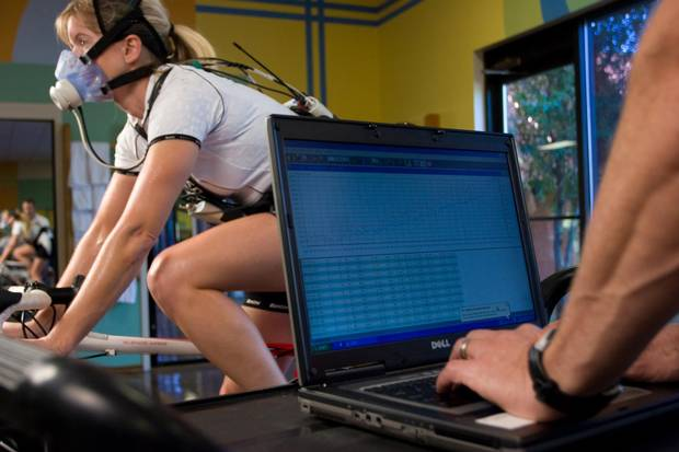 Visitors can undergo a battery of tests to determine how fit they are.