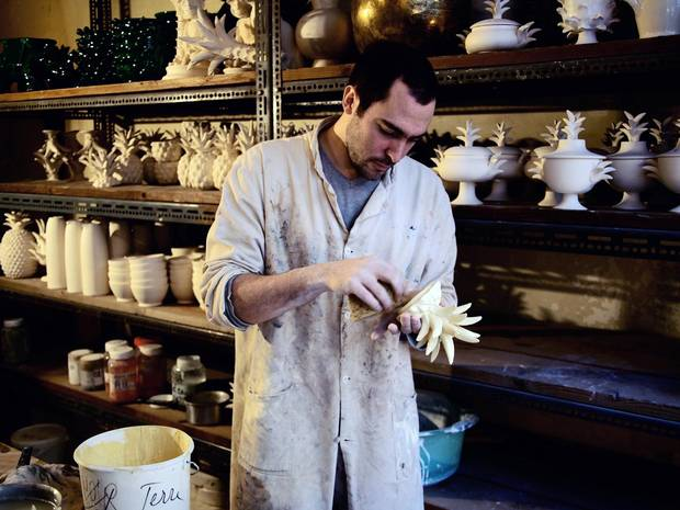 François Roger took over his grandfather Jean's bold brand of handmade ceramics two years ago.