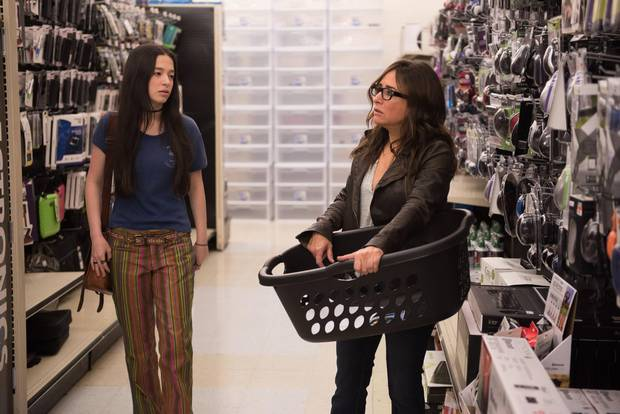 Mikey Madison and Pamela Adlon in the first episode of Better Things.