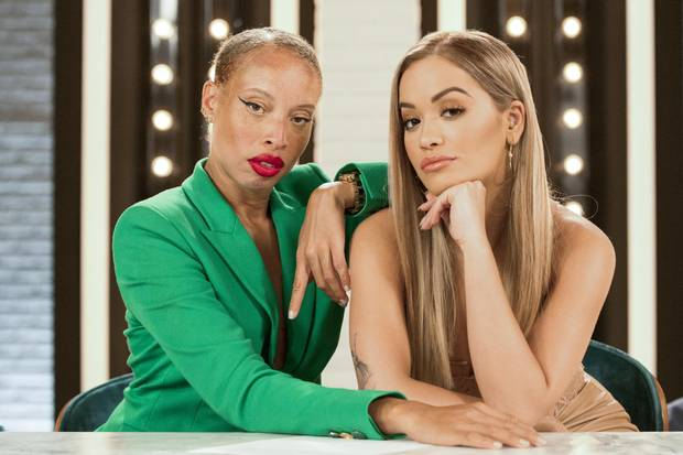 Stacey McKenzie has appeared on shows including America's Next Top Model (she's pictured above with co-host Rita Ora).