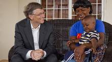 Bill Gates's Global Fund has 6.1 million people on antiretroviral therapy for AIDS and has treated 11.2 million people for TB. (Frederic Courbet)