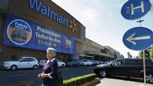 A general view shows a Wal-Mart store in Mexico City, in this April 24, 2012 file picture. Wal-Mart Stores Inc.'s Mexican affiliate routinely used bribes to open stores in desirable locations, according to a New York Times investigation published Dec. 17, 2012. (Edgard Garrido/Reuters)
