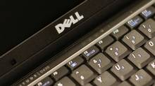 A Dell keyboard. (© Brendan McDermid / Reuters/Reuters)