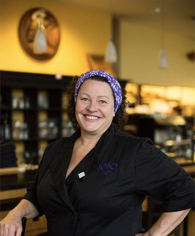 Lisa Ahier of SoBo restaurant.