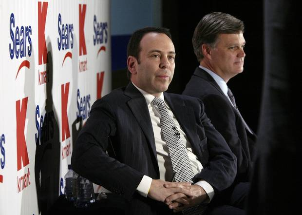 Edward Lampert, left, is the founder and CEO of the U.S. hedge fund that was Sears Canada's biggest shareholder. He is also CEO and controlling shareholder of Sears Holdings Corp.