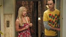 Jim Parsons as the geeky Sheldon on Big Bang Theory. (SONJA FLEMMING/AP)