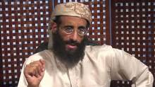 Anwar al-Awlaki is seen in an image taken from video and released by SITE Intelligence Group onNov. 8, 2010. (SITE Intelligence Group/AP)