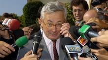 Italy's Finance Minister Giulio Tremonti. (GIUSEPPE ARESU/AP)