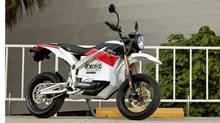 The Zero all-electric motorcycle. (Zero Motorcycles)