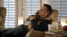 A still from the Huggies ad that was changed after it sparked a controversy.