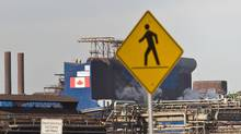 U.S. Steel in Hamilton. (Glenn Lowson for The Globe and Mail)