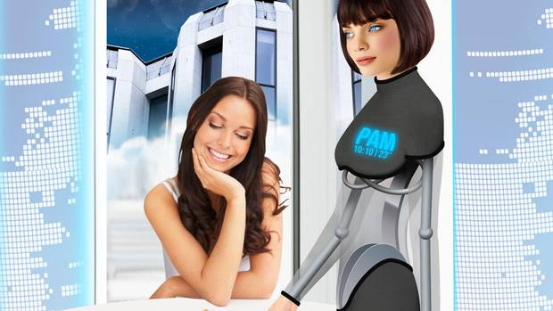 A robo-butler could be part of the travel experience years in the future.