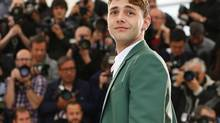 Director Xavier Dolan poses during a photo call for Mommy at the 67th international film festival, Cannes, southern France, Thursday, May 22, 2014. (the associated press)